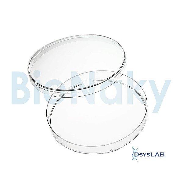 Placa de Petri para cultivo celular 150x25mm, esteril, pacote com 5 unidades, mod.: PC15025E (Bionaky)