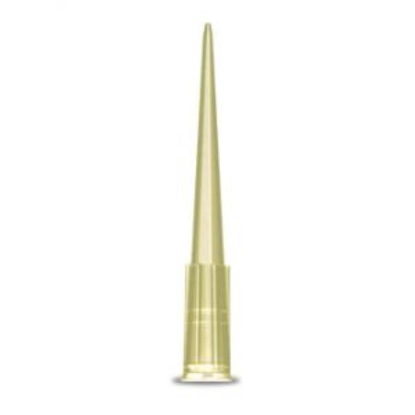 Ponteira tipo Gilson, 0-200 uL, amarela, rack com 96 unidades, mod.: 181743 (Cralplast)