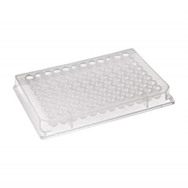 Microplaca de PCR 96 poços, borda elevada, pacote com 50 unidades, mod.: PCR-96-AB-C (Axygen)