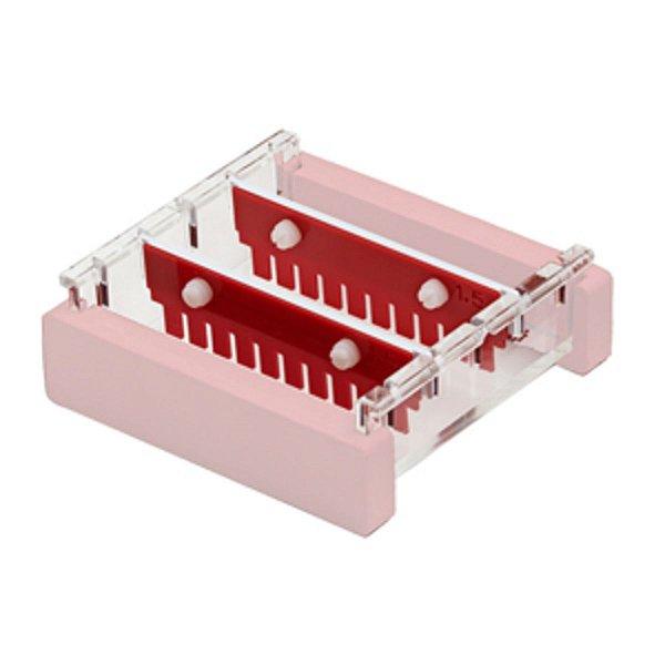 Pente para 12 poços, 1,0mm, compatível com a Cuba para Eletroforese modelo HGB-7, mod.: HGB7-12MC-1 (Axygen)