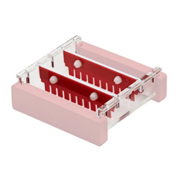 Pente para 12 Poços, 1,5 mm compatível com a Cuba para Eletroforese modelo HGB-7, mod,: HGB7-12MC-15 (Axygen)