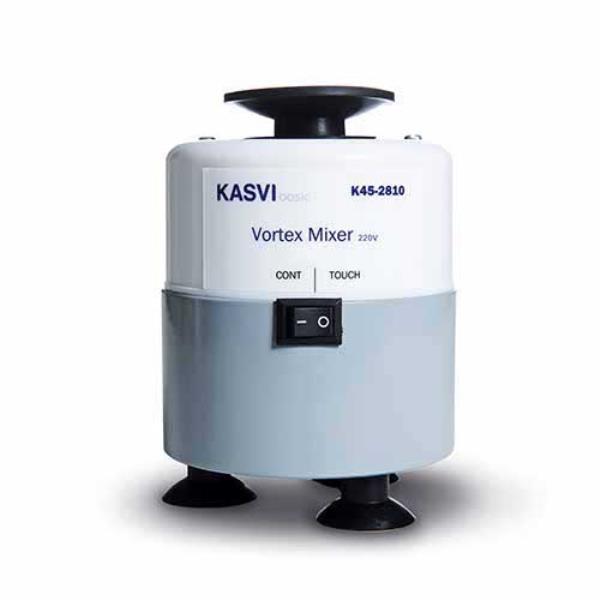 Agitador Basic Vortex, velocidade até 2800 RPM, 110V, mod.: K45-2810 (Kasvi)