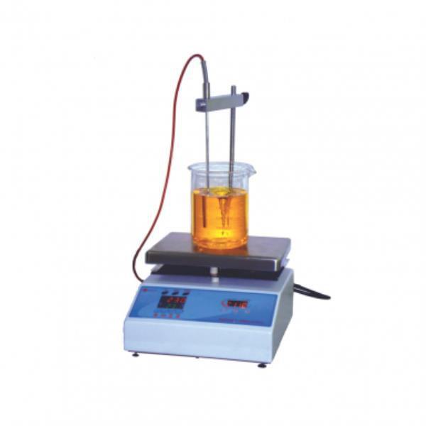 Agitador Magnético com aquecimento, velocidade entre 100 e 1990 RPM, mod.: Q261M23 (Quimis)