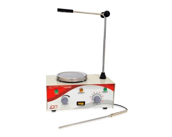 Agitador Magnético com aquecimento, velocidade entre 30 e 2400 RPM, 2L, 220V, mod.: 78HW-1-220V (Ion)