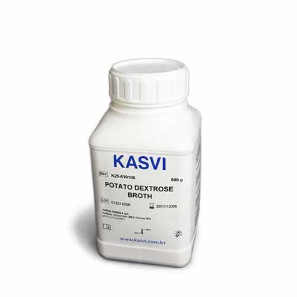 Caldo Batata Dextrose, frasco com 500 gramas, mod.: K25-610106 (Kasvi)