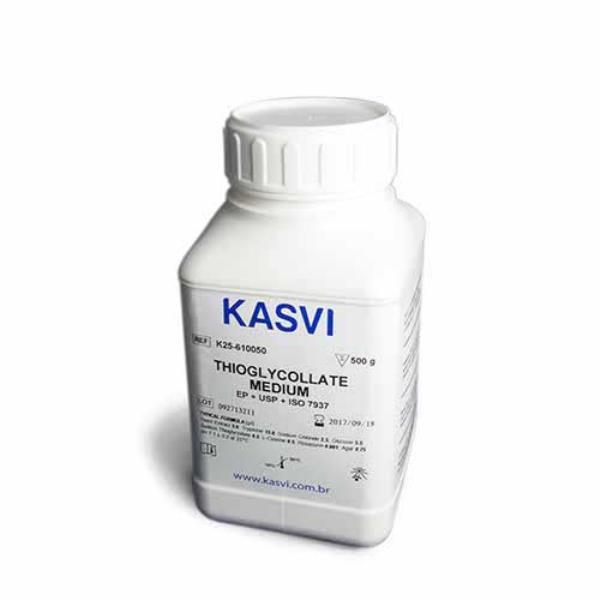 Meio Tioglicolato, frasco com 500 gramas, mod.: K25-610050 (Kasvi)