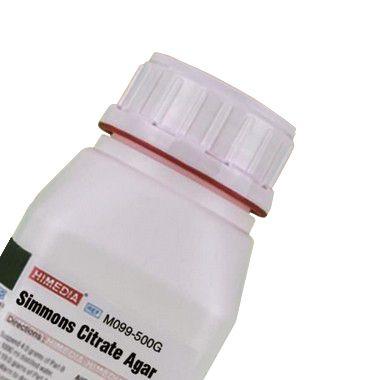 Agar Citrato Simmons (Simmons Citrate Agar), Frasco com 500 gramas, mod.: M099-500G (Himedia)