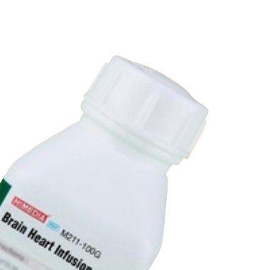 Agar Infusão Cérebro e Coração (Agar BHI), Frasco com 100 gramas, mod.: M211-100G (Himedia)