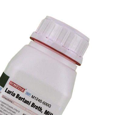 Caldo Luria Bertani, Miller, Frasco com 500 gramas, mod.: M1245-500G (Himedia)