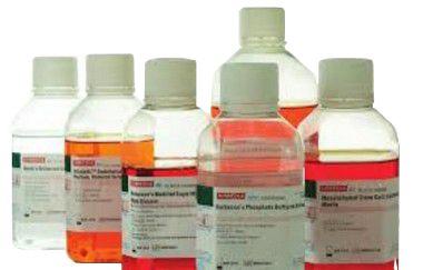 Meio RPMI-1640 Com Bicarbonato de Sódio e L-Glutamina, líquido, 5x100mL mod. AL028A-5x100ML (Himedia)
