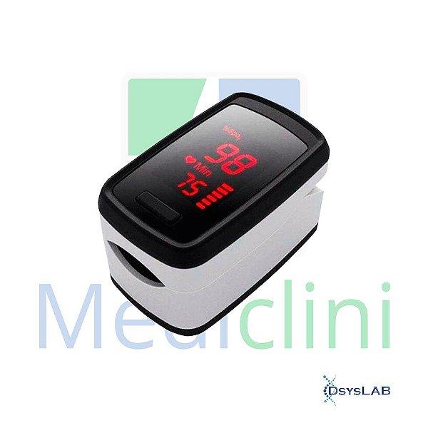 Oximetro de Dedo Portátil, utiliza 2 Pilhas AAA, Cordão para Pescoço, Sensor de Rotação para Tela, mod.: AS302L (Bioland)