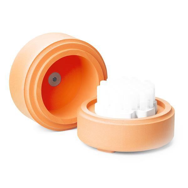 Sistema de Congelamento CoolCell FTS30, para 30 tubos, cor laranja, unidade mod.: 432007 (Corning)