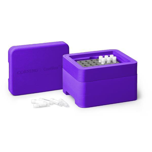 Sistema de Refrigeração e Congelamento Coolbox 2XT, cor púrpura. mod.: 432025 (Corning)