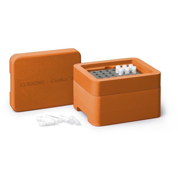 Sistema de Refrigeração e Congelamento Coolbox 2XT, cor laranja. mod.: 432027 (Corning)