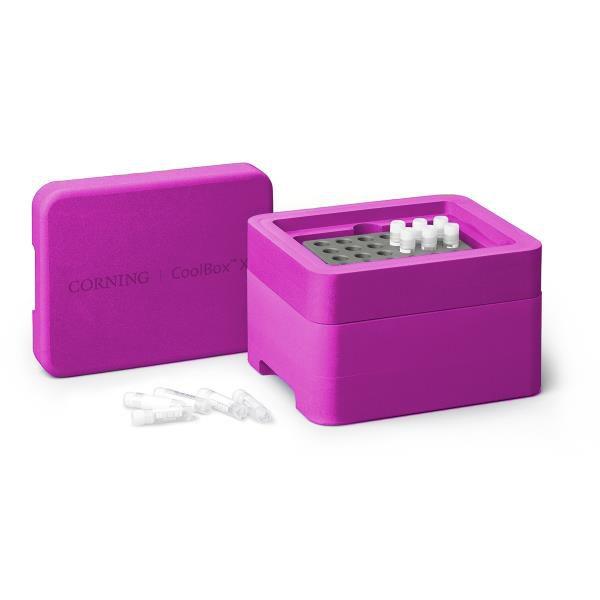 Sistema de Refrigeração e Congelamento Coolbox 2XT, cor rosa. mod.: 432028 (Corning)
