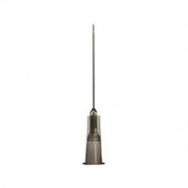 Agulha Hipodérmica Descartável, Tamanho 30x0,7 mm (22G¼), Caixa com 100 unidades, mod.: 353401 (Descarpack)