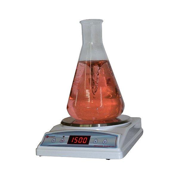 Agitador magnético sem aquecimento, até 1500rpm, 90 a 240 V, mod.: Q221MAG (Quimis)