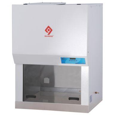 Cabine de fluxo unidirecional vertical, 450 m³ por hora, 220V, mod.: Q216F20M (Quimis)