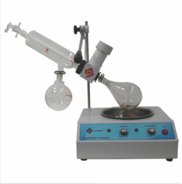 Evaporador Rotativo, Vácuo máximo 660mg de Hg, 220V, mod.: Q344B2 (Quimis)