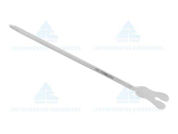 Tentacanula (Sonda Acanelada), Tamanho 15cm, confeccionada em Aço Inox, mod.: 0308 (ABC)