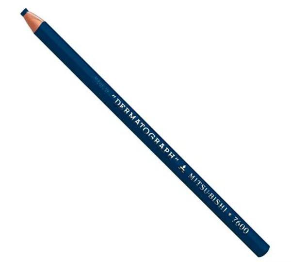 Lápis dermatográfico azul, mod.: LA (Carci)