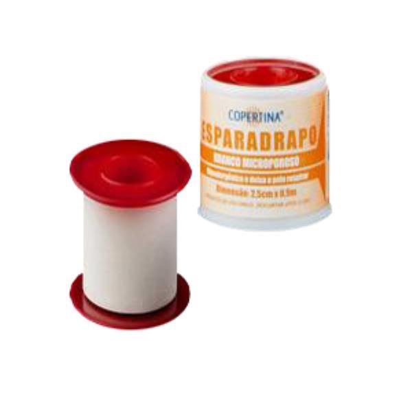 Esparadrapo microporoso branco, hipoalergênico, tamanho 1,2cm x 10m, unidade, mod.: FT1210-UND (Copertina)