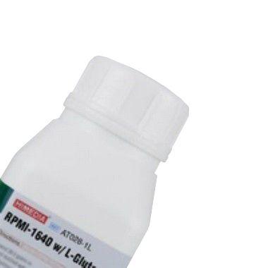 RPMI-1640 com L-Glutamina sem Bicarbonato de Sódio, Meio pó para 1 litro, mod.: AT028-1L (Himedia)