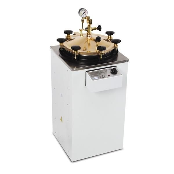 Autoclave Vertical Analógica 50 litros, 35x50cm,com tampa em aço inox,mod.: AV-50 (Phoenix)
