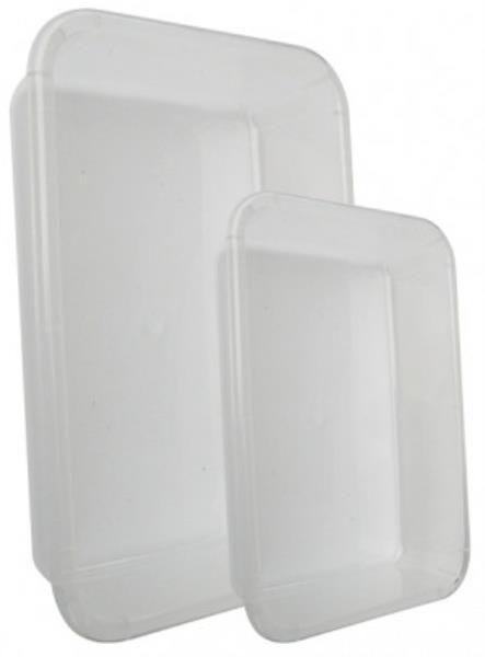 Bandeja sem aba, em polipropileno leitoso, capacidade de 3 litros, tamanho 30x20x07cm, mod.: 8110-4 (J.Prolab)
