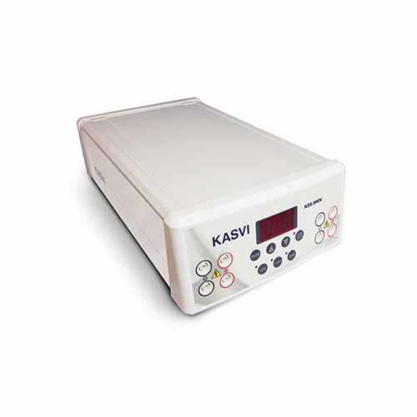 Fonte de Eletroforese para Corrida até 4 Cubas Simultaneamente, Tela LED, Bivolt, mod.: K33-300V (KASVI)