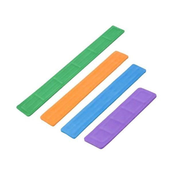 Jogo de tala em EVA para imobilização, lavável, com 4 peças: tamanhos: PP, P, M, G, mod.: J012 (RESGATE)