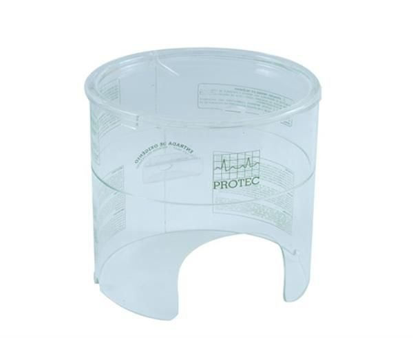 Capacete tamanho Médio, diâmetro de 20x21cm, mod.: 005115 (Protec)