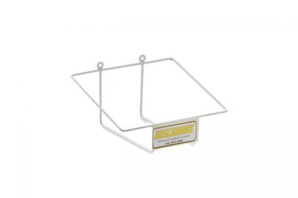 Suporte em arame revestido em PVC para coletor perfurocortantes de 13L, mod.: SUP130724 (Descarbox)