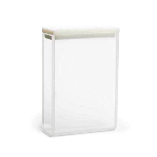 Cubeta em vidro óptico com 2 faces polidas, 10,5 ml, passo 30 mm, unidade, mod.: K22-3105-G (Kasvi)