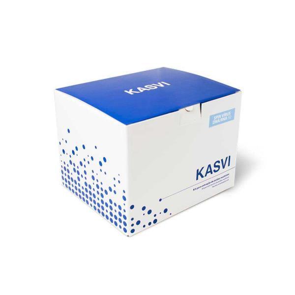 Kit de Extração de DNA Mini Spin, capacidade para 50 Extrações, mod.: K9-0050 (Kasvi)
