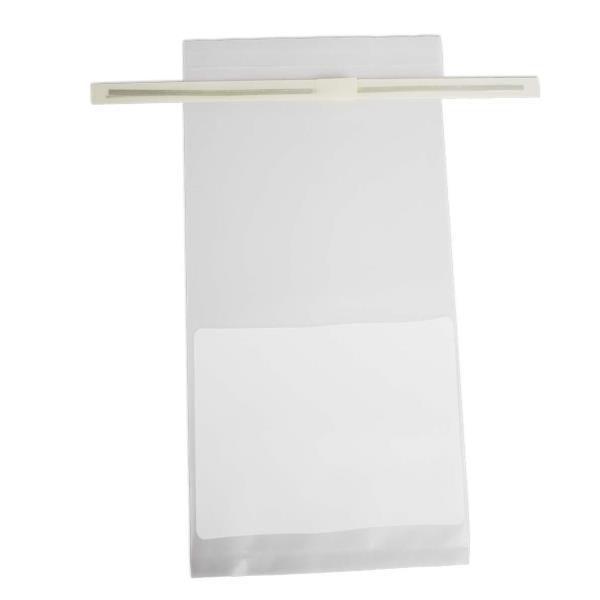 Saco para amostra 540 ml, com tarja, estéril, Caixa com 500 unidades, mod.: K54-02 (KASVI)