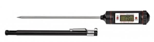 Termômetro Digital tipo Espeto, material em ABS, temperatura de -50ºC a +300ºC, Divisão de 0,1ºC, Espeto com 70 mm de comprimento, mod.: 0753-3 (J.Pro