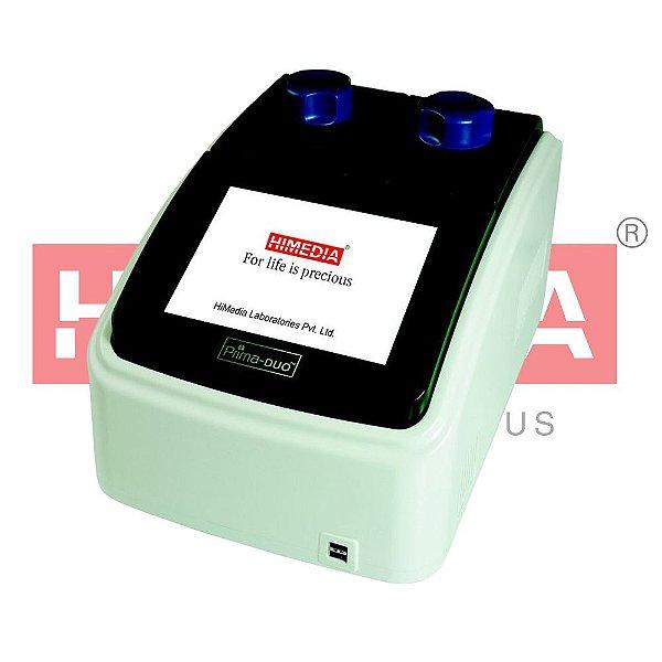 Termociclador com Gradiente, 2 Blocos de 48 poços para tubos de 0,1/0,2mL, mod.: Prima-DUO (Himedia)