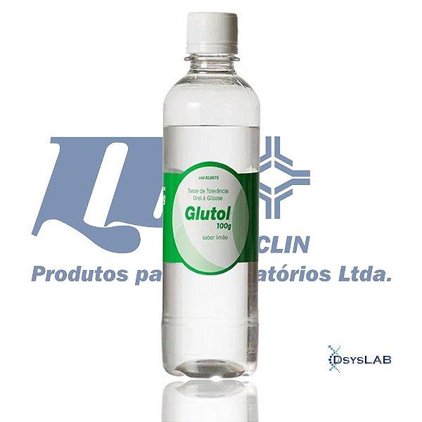 Glutol limão, 100 gramas, Frasco com 300 ml, mod.: 610673 (Laborclin)