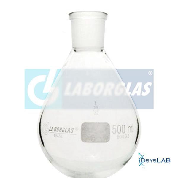 Balão para rotaevaporação com junta 29/32, capacidade de 1000ml, mod.: 91771542 (Laborglas)