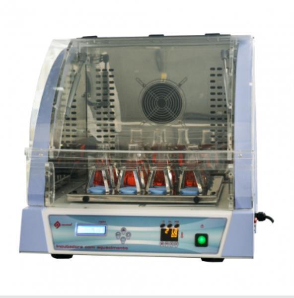 Incubadora de bancada com aquecimento e agitação orbital, 50 a 199rpm, mod.: Q315IA (Quimis)