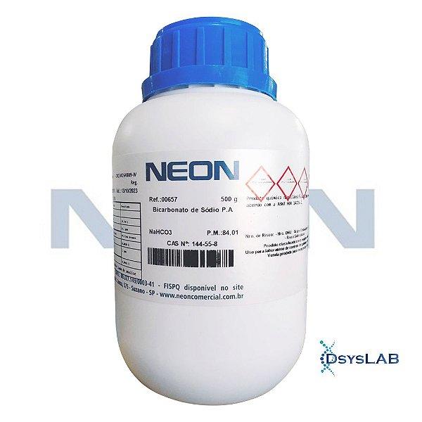 Bicarbonato de Sódio P.A., Frasco com 500 gramas, mod,: 00657-DSYS (Neon)