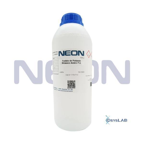 Fosfato de Amônio Bibásico P.A., CAS 7783-28-0 , Frasco 1000 g, mod.: 01305 (Neon)