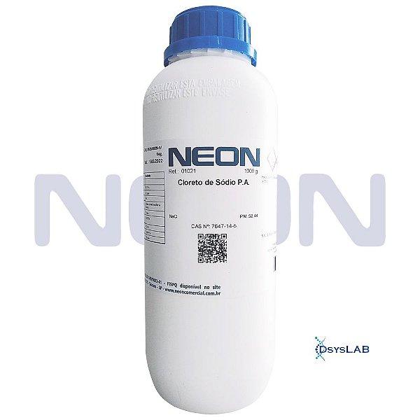 Cloreto de Sódio P.A., Frasco com 1000 gramas, mod.: 01021-DSYS (Neon)
