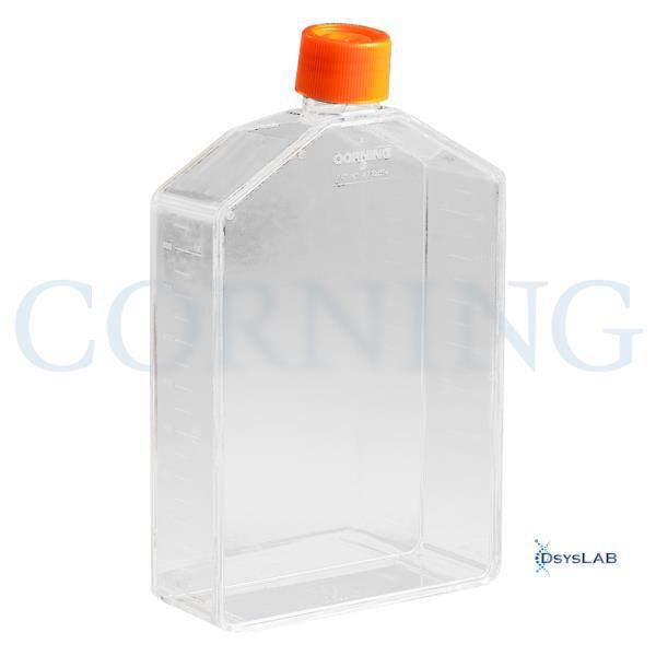 Frasco para cultivo de células T225, tampa sem filtro, superfície TCT, Caixa com 25 unidades, mod.: 431081 (Corning)