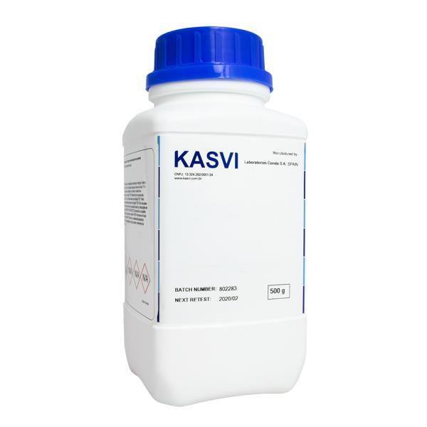 Agar Citrato Simmons em Pó desidratado, Frasco 500 gr, mod.: K25-1014 (Kasvi)