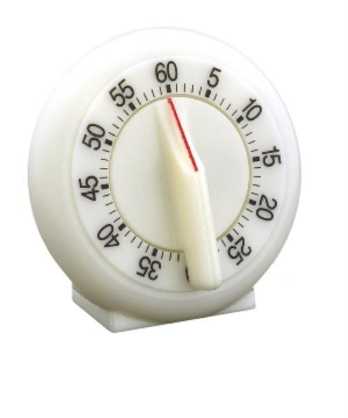 Contador de Tempo de Plástico, até 60 minutos, mod.: RD60 (Cralplast)