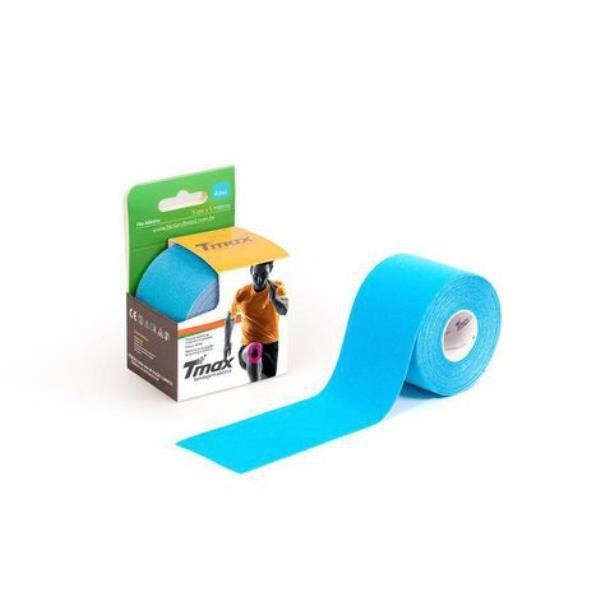 Bandagem funcional adesiva, tamanho 5m x 5cm, cor azul, rolo, mod.: TMAXAZUL (Bioland)