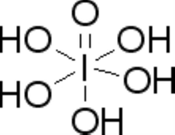 Ácido Periódico (Orto) P.A., CAS 10450-60-9, mod.: 00308, Frasco com 25 gramas, mod.: 00308-DSYS  (Neon)