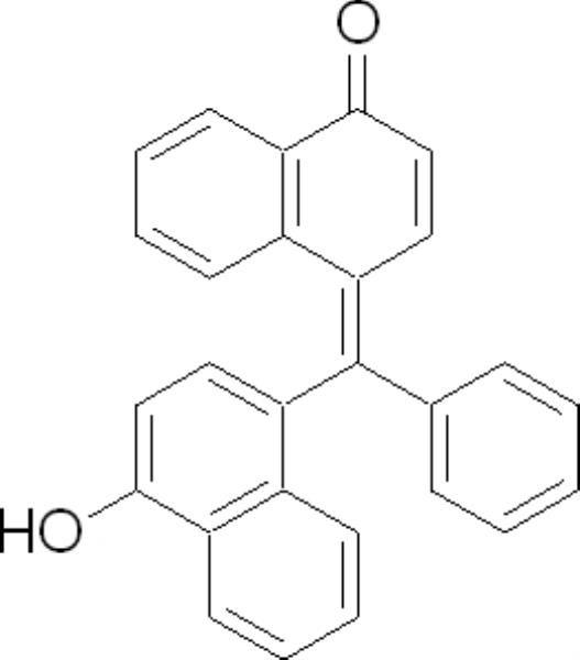 1-Naftolbenzeína, CAS 145-50-6, Frasco com 5 gramas, mod.: 01881 (Neon)